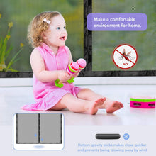 Magnetic Screen Door with Durable Fiberglass Mosquito Mesh Curtain