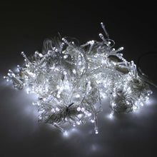 24Mx3M 2400 LED Cool White Fairy String Light Curtain Lights With Plug-in Controller