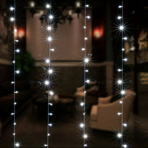 300LED 3M Waterproof Starry Fairy String Lights +Wall plug-in controller