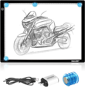 A3 Light Box Magnetic Artcraft Tracing Adjustable LED Light PadBoard Drawing
