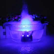 12 LED Mist Maker Fogger Water Fountain Pond Fog Machine Atomizer Air Humidifier