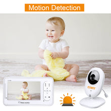 "4.3"" Baby Monitor 2.4Ghz Wireless Camera Video 2-Way Talk Night Vision + Lullaby"