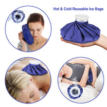 3Pack Reusable Ice Bag Pain Relief Heat Pack Sports Injury First Aid 6 9 11 inch