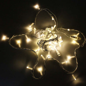 Outdoor LED String Light Set connectable Lighting Party Wedding Warm white