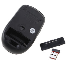 AGPtek 2.4GHz Wireless Optical Mouse with USB 2.0 Receiver for PC Laptop