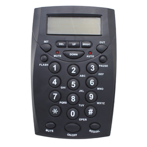 AGPtek Call Center Dialpad Headset Telephone with Tone Dial Key Pad & REDIAL