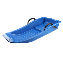 wadeo Winter Durable Plastic Snow Sled Boat Shape Snow Sledge Outdoor for Kids