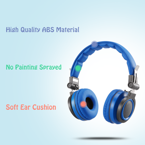 Kids Headphones over Ear Wired Headsets with 85dB Volume Limit Adjustable Foldable