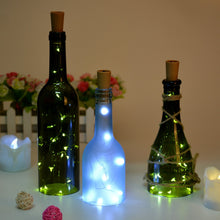 Wine Light, AGPtek® 1 Set of Bottle LED Wine Light 30in Copper Wire light Starry Light for Wedding/Party Decoration - White