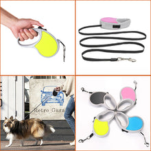 Blue 16ft Automatic Retractable Dog Cat Leashes Pet Collar Walking Lead Rope Outdoor