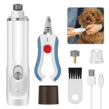 OWNPETS Pet Nail Grinder Trimmer Dog Cat Rechargeable Electric Clipper Tool Kit