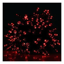 Red 100 LED Light String for Holiday Party Decoration (Connectable)