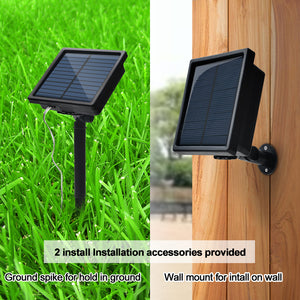 300LED Solar Waterproof Curtains Light 2400mah High Capacity Battery Lights Warm White