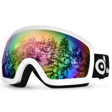 Adult Winter Ski Goggles Double Lens Eyewear Sunglasses