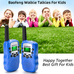 Baofeng® 2pack Kids 2 Way Radio Walkie Talkies 22 Channel 3-5 Miles FRS/GMRS Toy