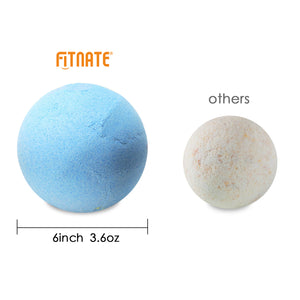 Fitnate® Bath Bombs Gift Set Handmade Spa Bath Bombs Kit Ultra Lush Spa Fizzies - Best Gift Ideas - 6 Packs-Larger Size
