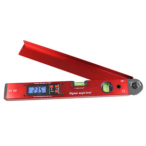 Precise measuring device quick measuring and transferring of angles  for niches and bays, sloping roofs and handrails