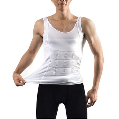 Men's Body Shaper For Men Slimming Shirt Tummy Waist Vest lose Weight Sport Training