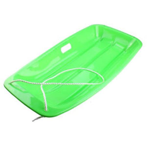 AGPtek_ Winter Durable Plastic Snow Sled Boat Shape Snow Sledge Outdoor Pulling Snow Board Snow Seats for Kids