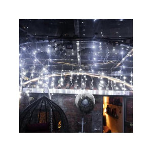 AGPtek 40Mx0.6M Linkable Fairy Curtain Lights Strings Connectable Lights 8 Lighting Modes