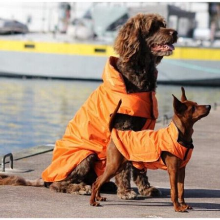 wadeo Waterproof Nylon Dog Winter Coat Jacket for Large Dogs