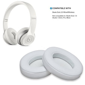 AGPtek Memory Foam Ear Cushion for Beats by Dr. Dre Solo 2.0 Wireless Headphone