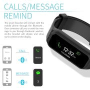AGPtek Fitness Tracker L38i IP67 Rainproof Smart Wristband for Android IOS Samsung LG HTC iPhone