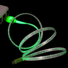 LED Light Micro USB Charger Data Sync Cable for Samsung Galaxy S4 S5 HTC Android