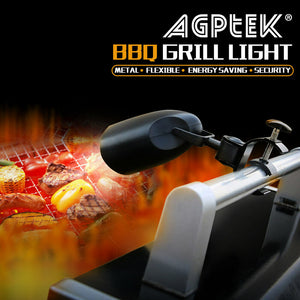 BBQ Grill Light Durable Super Bright 10 Led Battery Powered Barbecue Lamp