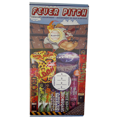 Blast Off Fever Pitch Fireworks Kit