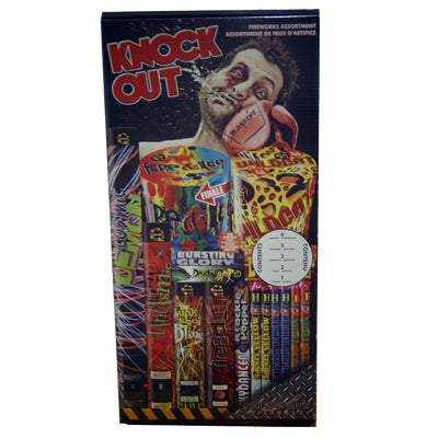 Blast Off Knock Out Fireworks Kit