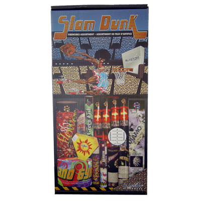 Blast Off Slam Dunk Fireworks Kit