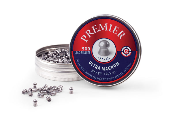 Crosman .177 Domed Premier Pellets 500 pk