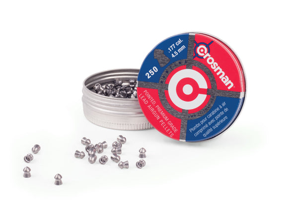 Crosman .177 Pointed Pellets 250 pk