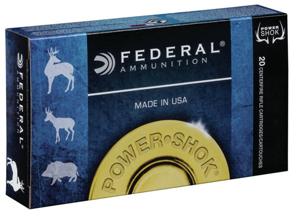 140gr SP Federal Power-Shok 6.5 Creedmoor