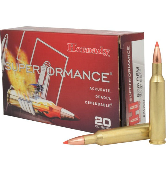 95gr SST Hornady Superformance 6mm