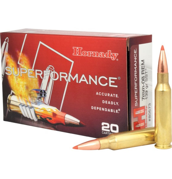 139gr SST Hornady Superformance 7mm-08