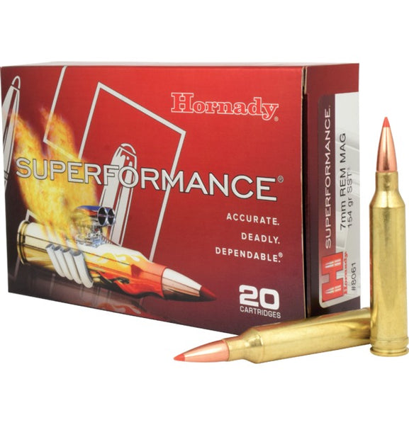 154gr SST Hornady Superformance 7mm