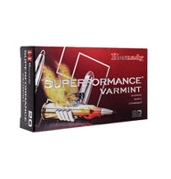 50gr V-Max Hornady Superformance 22-250