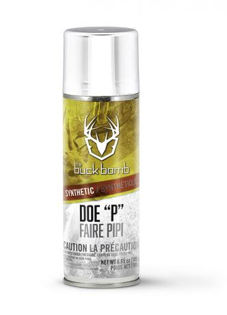 "The Buck Bomb Doe ""P"" Synthetic Deer Lure"