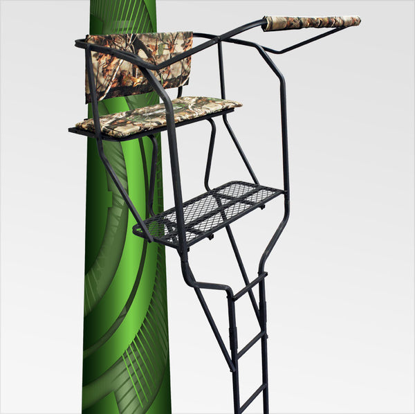 The Rascal 2 Man 18' Ladder Stand