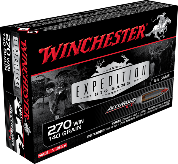140gr Accubond Winchester Expedition 270