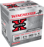 "Winchester Super-X 28g 2.75"" 5/8oz Steel - 6"