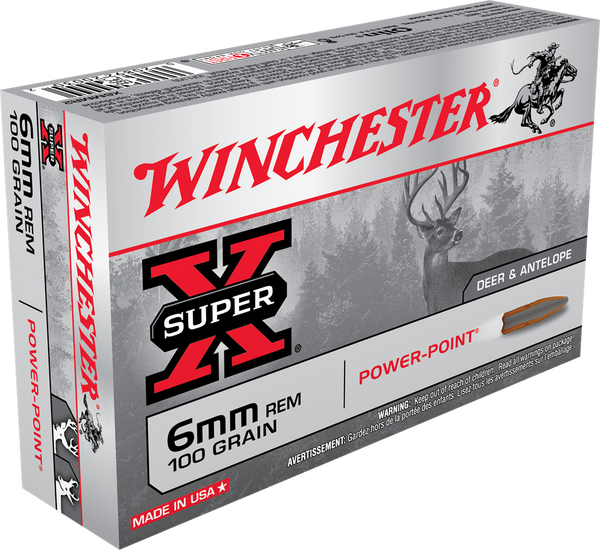 100gr PP Winchester Super-X 6mm