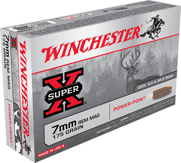175gr PP Winchester Super-X 7mm