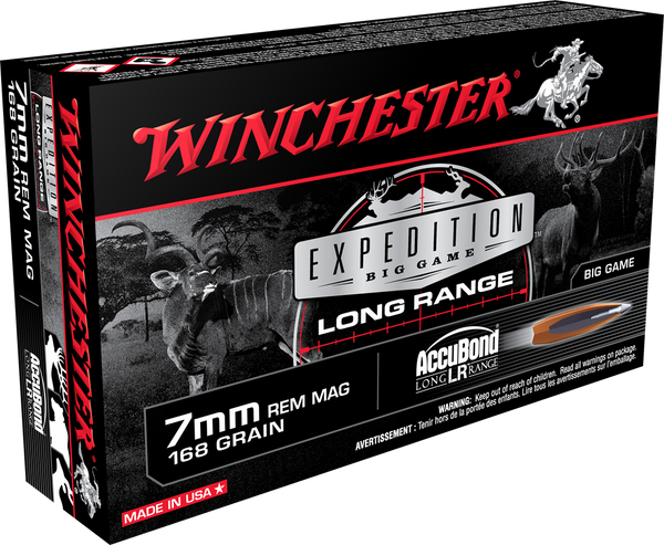 168gr Accubond Winchester Expedition Long Range 7mm