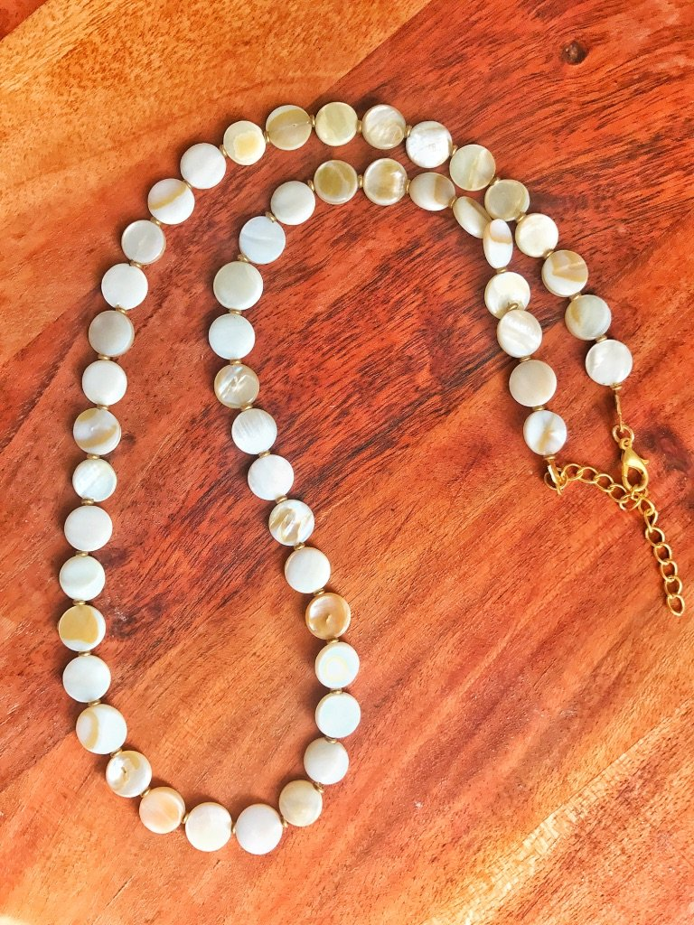 Shell Long Necklace