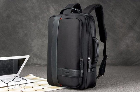 Business Men's Backpack Laptop With USB Charging - Anti Theft