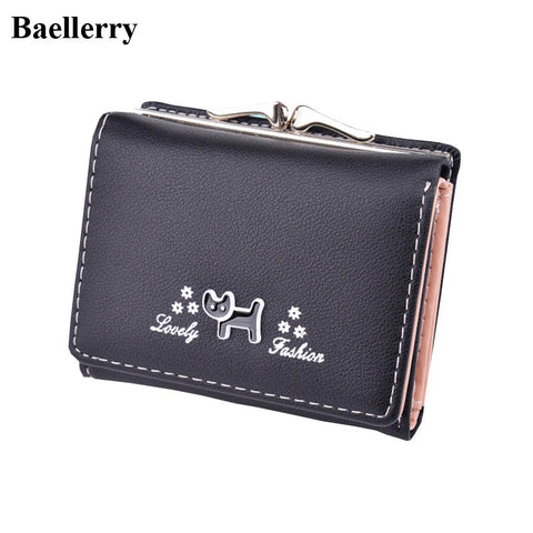 Fashion Designer Wallets Women Wallets Brand Small Short Hasp Coin Purses Credit Card Holders Clutch Handbags Female Money Bags