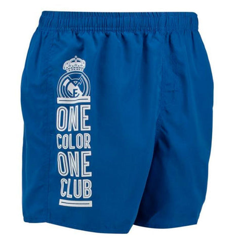 Bermuda Real Madrid Tropical Azul